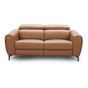 Lorenzo Motion Loveseat, Caramel
