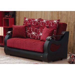 Pittsburgh Loveseat, Red