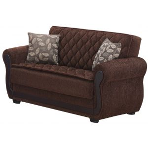 Sunrise Loveseat, Brown