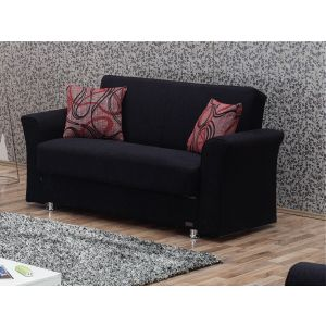 Utah Loveseat, Black