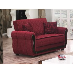 Park Ave Loveseat, Red