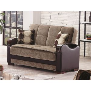 Rochester Loveseat, Brown
