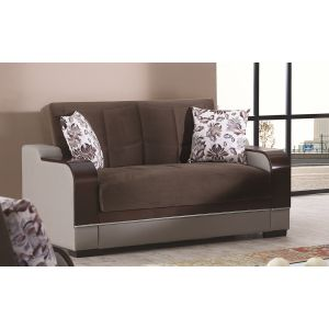 Texas Loveseat, Brown