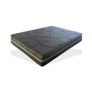Luxury Gel Memory Foam Full Size Mattress, Grey