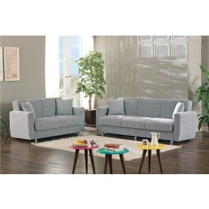 Niagara Living Room Set, Grey
