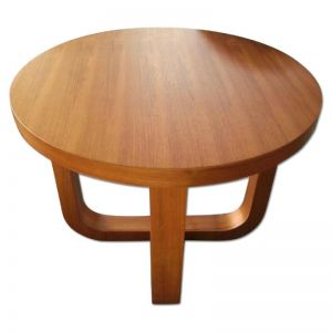 Olive End Table, Teak Finish