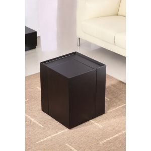 P205B End Table/Mini Bar, Dark Oak