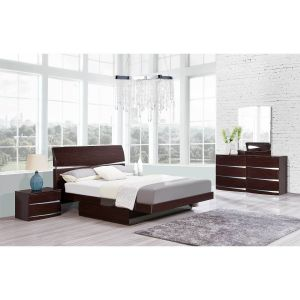 Aurora Bedroom Set, Wenge