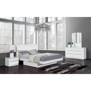 Aurora Bedroom Set, White