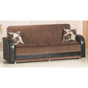 Utica Sofa Bed, Brown