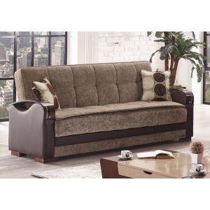 Rochester Sofa Bed, Brown