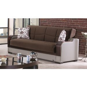 Texas Sofa Bed, Brown