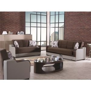 Texas Living Room Set, Brown