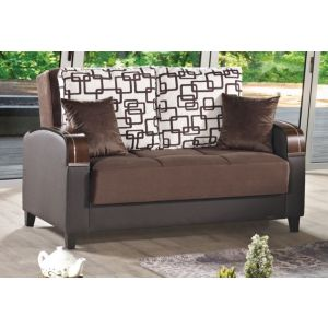 Soho Loveseat, Brown