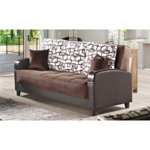 Soho Sofa Bed, Brown