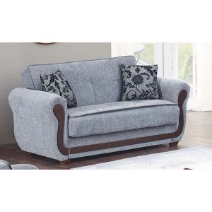 Surf Ave Loveseat, Grey