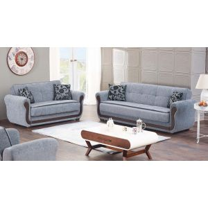 Surf Ave Living Room Set, Grey