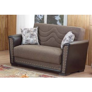 Toronto Loveseat, Brown