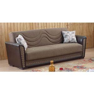 Toronto Sofa Bed Brown
