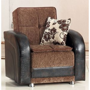 Utica Chair, Brown